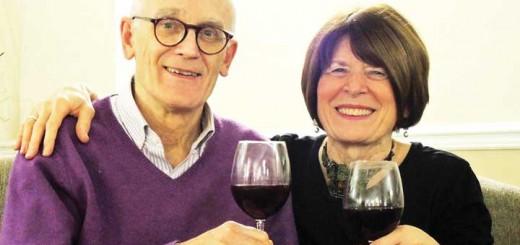 Tour guide seniors: Brian Lauder and Sharyn Seibert