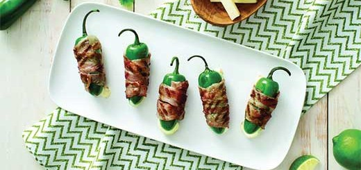 Grilled Jalapeno Mozzarella Poppers